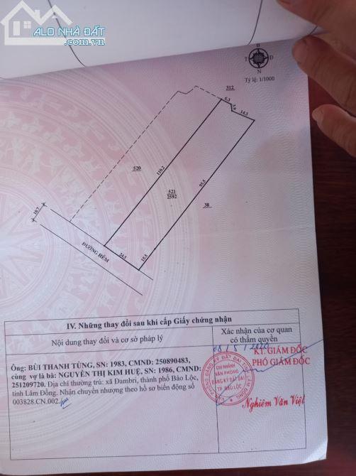 Cần bán lô dất liên thôn 11 xã dambri TP Bảo Lộc view đẹp giá siêu rẻ